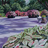 painting entitled Bellinggrath Gardens