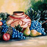 painting entitled Oblong Still Life