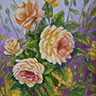 painting entitled Yellow Roses